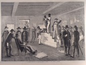Slave at Auction, Richmond, Virginia, 1861