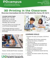 3D Printing in the Classroom - July 11-14 @ RIU#6