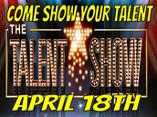 Talent show Friday, April 18/ Show de talentos Viernes, 18 de abril