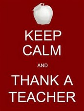 Teacher Appreciation Week- 1st Week of May