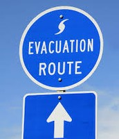 Plan an evacuation route ahead of the storms