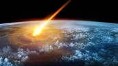 A Meteor Hitting Earth
