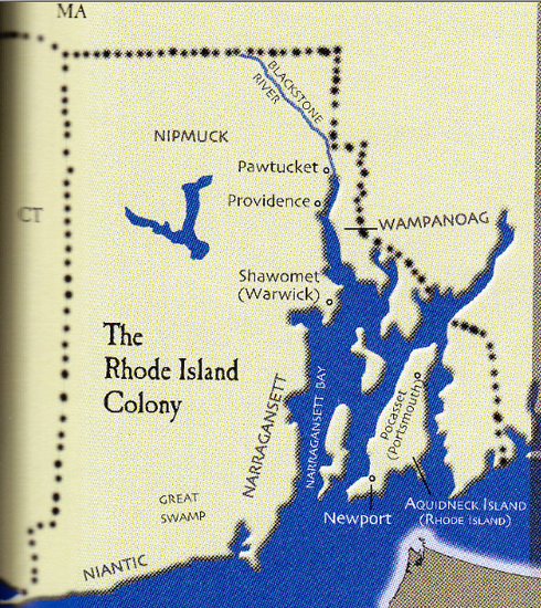 Laws In Rhode Island Colony