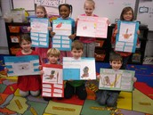 Nonfiction writing with labels
