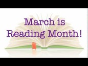 March is Reading Month!!!