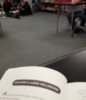 I like reading in class, too.