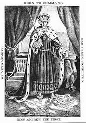 King Jackson political cartoon