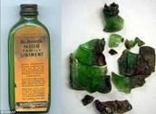 Ointment glass jar