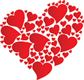 Valentine Party Friday, February 12th at 1:30 - back picnic tables