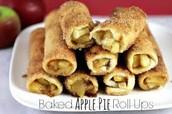 Baked Apple Pie Rollups!