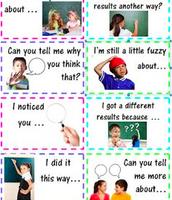 Teach your students how to talk math.