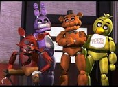 FIVE NIGHTS AT FREDDYS!!!