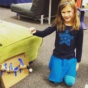 2nd Grade Rube Goldberg Machine