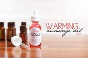 Warming Massage Oil (DIY