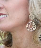 Valentina Chandelier Earrings - Gold