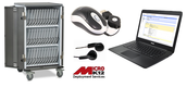 SBAC Charging Cart and Asus Chromebook Bundle - 30 unit