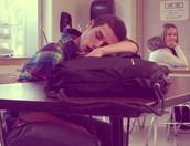 Falling asleep in class?
