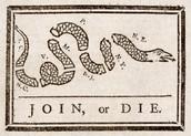"""Join or Die"" political cartoon"