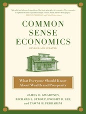 Common Sense Economics Workshop  Monday, August 17, 2015