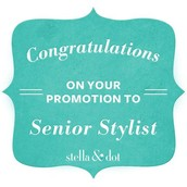 Promoted to Senior Stylist