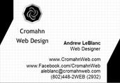Cromahn Web Design