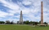 Present day spindletop