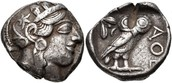ancient Athenian silver