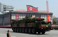 North Korea's missiles.