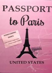 Passport to Paris Homecoming Dance