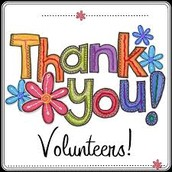 Parent volunteers for May and June!