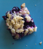 Vegan Blueberry Crumb Bar