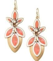 Hibiscus Chandelier Earrings $15 (3 earrings in one)  SOLD
