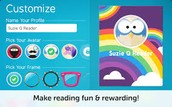 Earn badges and customize your profile