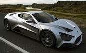 Silver Hennessey Venom GT