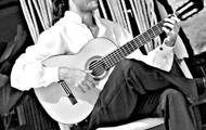 Esaú Galván y su guitarra, con la Boquita!!