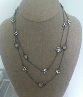 Chelsea Hematite Necklace
