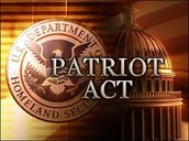 Patriot Act signed