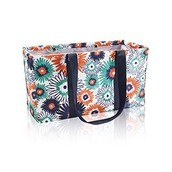 Large Utility Tote in Paradise Pop