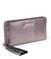Mercer Zip Wallet - pewter metallic