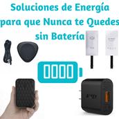 Soluciones de Energía para que Nunca te Quedes sin Batería