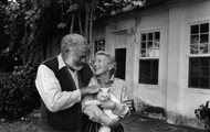 Hemingway and Mary Welsh