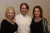 Chef John Besh with the BKD Advisory Board