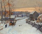the Pennsylvania colony in The winter