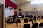 Band room.