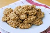No Bake Peanut Butter Oatmeal Cookies
