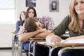 Chewing gum keeps the kids awake in class