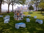 Library Lawn in Brooklyn, NY