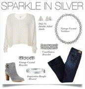 Silver and White, the perfect Combination