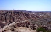 Rocks in Badlands