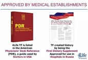 Transfers Factor us Patented by 4Life Research's & Listed in The PDR-USA